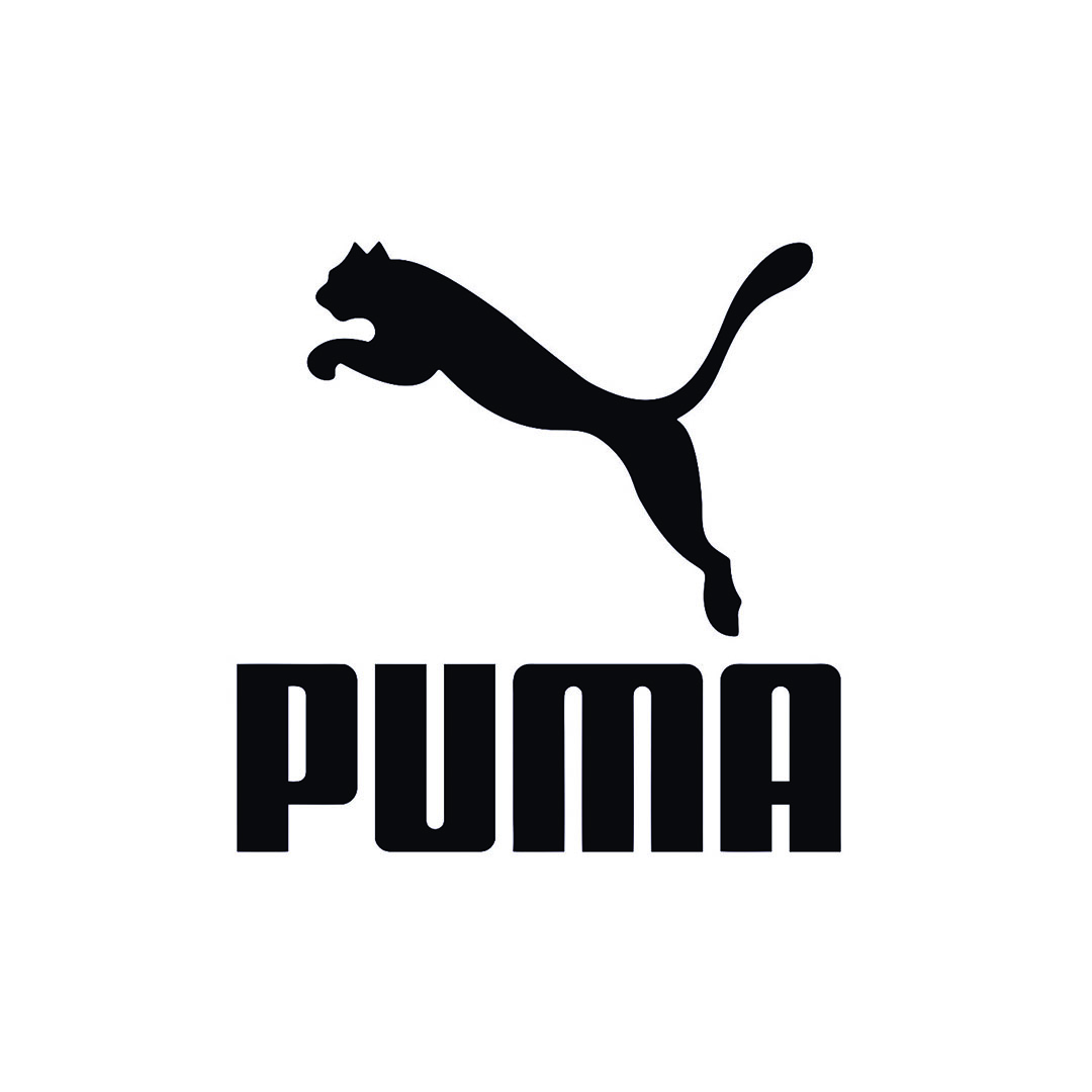 Puma logo nero
